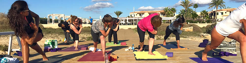 Yoga am Meer in Mallorca